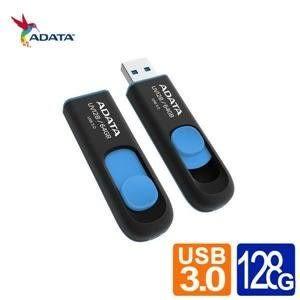 【台中平價鋪】全新 ADATA 威剛 DashDrive UV128 128G USB3.0 下推式隨身碟 終生保固