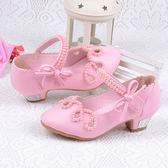 女童高跟公主鞋 新款春夏季表演皮質 LR1791【VIKI菈菈】