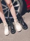 馬丁靴秋款 馬丁靴女夏季春秋新款襪靴百搭英倫風透氣帥氣機車短靴子 彩希精品鞋包