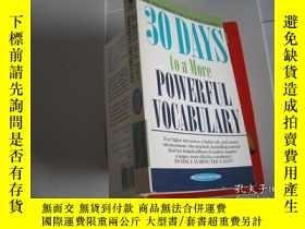二手書博民逛書店30罕見DAYS TO A MORE POWERFUL VOCA