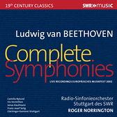 【停看聽音響唱片】【CD】諾靈頓爵士指揮 司圖加廣播交響樂團-貝多芬交響曲全集 (5CD)