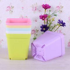 DIY種植 方形環保小花盆(附滴水盤)-艾發現