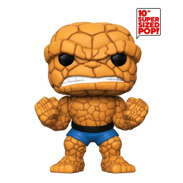 【 Funko 】POP 漫威 驚奇四超人 10吋 石頭人/ JOYBUS玩具百貨