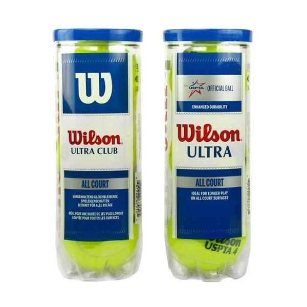 網球 新款Wilson威爾勝網球ULTRA CLUB ALL COURT全場型3只裝桶裝爾遜 城市玩家