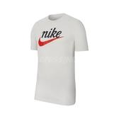 Nike 短袖T恤 NSW Heritage Tee 白 紅 男款 基本款 運動休閒 【ACS】 CK2382-133