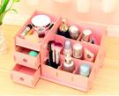 韓國 木質收納盒 創意 收納盒 DIY收納盒 木製整理盒 化妝盒 文具 桌面收納