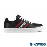 【K-SWISS】Court Lite Spellout休閒運動鞋-男-黑/紅(06147-037)