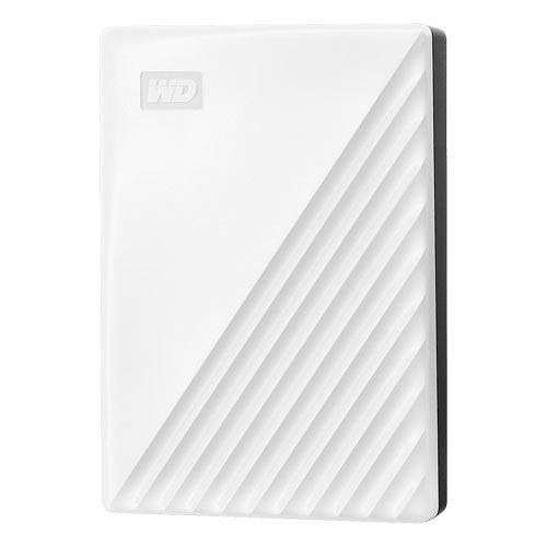 WD My Passport 5TB 白色 USB3.2 2.5吋 行動硬碟(WDBPKJ0050BWT-WESN)