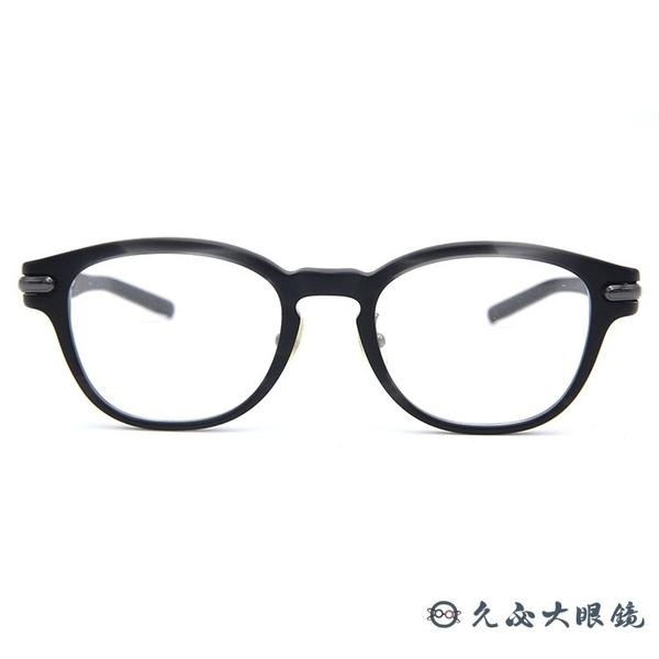 999.9 日本神級眼鏡 NPM87 7952 (黑) 圓框 近視眼鏡 久必大眼鏡