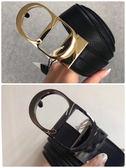■專櫃62折■2019新品■ Dior Homme 男款荔枝紋小牛皮 Logo 腰帶 共分有金釦 或 黑釦