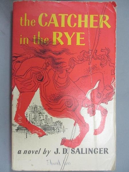 【書寶二手書T4/原文小說_JEF】The Catcher in the Rye_Salinger