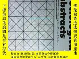二手書博民逛書店Sociological罕見Abstracts VO.62 NO
