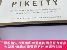 二手書博民逛書店罕見(英文)《資本與意識形態》Capital and Ideology托馬斯皮凱蒂作品,紐約時