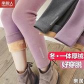 女童打底褲 一體刷毛加厚秋冬裝特厚保暖外穿洋氣女寶寶兒童棉褲子【快速出貨】