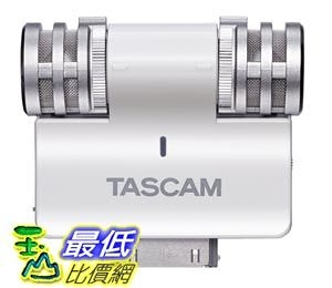 [103美國直購] TASCAM iM2W Channel Portable Digital Recorder 電容式 立體聲麥克風 白色 $1039