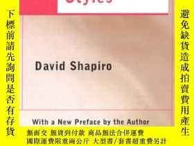 二手書博民逛書店英文版罕見David shapiro:neurotic syul