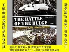 二手書博民逛書店The罕見Battle of the Bulge (damaged)-膨脹之戰(受損)Y414958 出