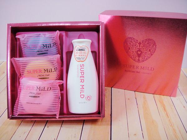 SHISEIDO資生堂禮盒 SUPER MILD 喝茶禮盒 結婚用品【皇家結婚用品百貨】