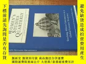 二手書博民逛書店Womens罕見Studies Quarterly Volume