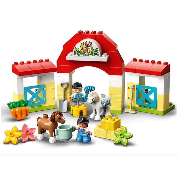 LEGO 樂高 得寶幼兒系列 馬廄 & 小馬照護站_LG10951