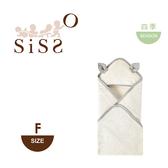 【SISSO有機棉】灰米點點二重織小鹿包巾