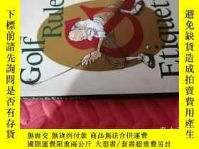 二手書博民逛書店【日文原版】Golf罕見Rules & Etiquette( 如圖)Y25633 宮田哲幹 NGF東京國際事務