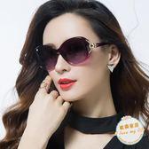 太陽鏡新款偏光太陽鏡圓臉女士墨鏡女潮明星款防紫外線眼鏡長臉