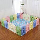 週年慶優惠兩天-寶寶游戲圍欄兒童安全柵欄家用爬行墊學步嬰兒圍擋室內玩具防護欄RM