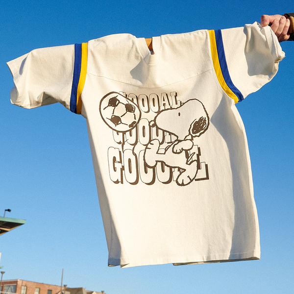 Levis X Snoopy sport限量聯名 男款 短袖T恤 / 史努比射門 GOAL