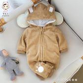 寶寶春裝連身衣369月 舒適可愛 新生兒爬服 小確幸生活館