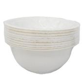 紙湯碗 Φ12.5xH4cm (10±2入)/組【康鄰超市】