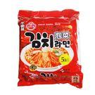 韓國Ottogi 不倒翁泡菜風味拉麵-5入/袋