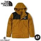 【The North Face 男 DV防水可套接外套《棕褐》】4UAU/防水透氣衝鋒衣/風雨衣/連帽外套