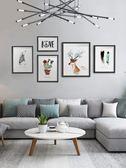 聖誕感恩季 北歐客廳沙發背景裝飾畫臥室壁畫現代簡約風格掛畫玄關餐廳墻畫