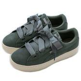 Puma Puma Vikky Platform Ribbon S  休閒鞋 36641805 女 舒適 運動 休閒 新款 流行 經典