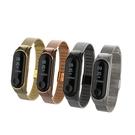 小米手環3米蘭金屬錶帶腕帶 贈手環保護膜...