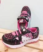 【震撼精品百貨】Hello Kitty 凱蒂貓~台灣製Hello kitty正版兒童布鞋-黑色愛心(29~36號)