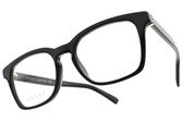 GUCCI光學眼鏡 GG0457O 005 (黑) 低調經典LOGO款 # 金橘眼鏡