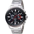 SEIKO精工Criteria太陽能計時腕錶  V175-0ER0R  SSC677P1  黑