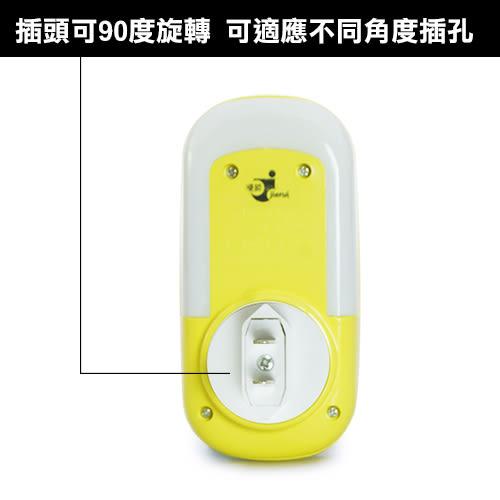 LIKA夢 捷銳 jierui 光控感應式省電節能臥室、床頭LED小夜燈 壁燈 滑鼠造型系列 黃 D5JI-A66Y