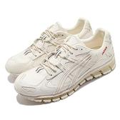 Asics 休閒鞋 Gel-Kayano 5 360 男 日本製 皮革 米 紅 復古 日製跑鞋 【ACS】 1023A023200