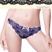 Chasney Beauty-舞動陽光S-XL蕾絲三角褲(藍白)