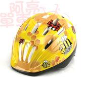 *阿亮單車*VR-1 兒童自行車安全帽(蜜峰瓢蟲),黃色《C77-213》