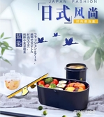 保溫飯盒-飯盒微波爐專用上班族帶飯餐盒套裝保溫可愛少女心學生便當盒日式  喵喵物語