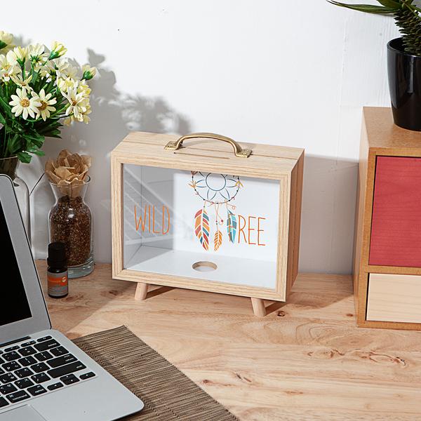 木質小調造型展示盒-生活工場