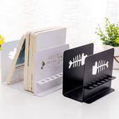 書桌整理筆筒書立鐵書架書靠大號書夾書桌擋板兩個裝免運直出