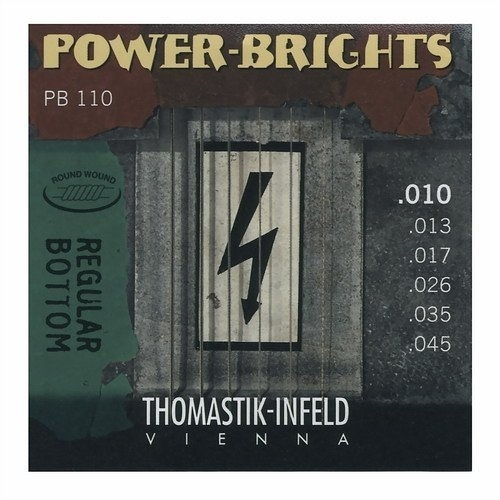 ☆ 唐尼樂器︵☆ Thomastik-Infeld POWER-BRIGHTS PB110 (10-45)手工電吉他弦