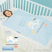 嬰兒睡袋春秋兒童防踢被神器寶寶中大童薄棉六層紗布睡袋夏季四季 全館免運
