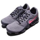 Nike Air Vapormax GS 灰 粉紅 透氣網布 大氣墊 舒適緩震 運動鞋 女鞋 童鞋 大童鞋【PUMP306】 917962-401
