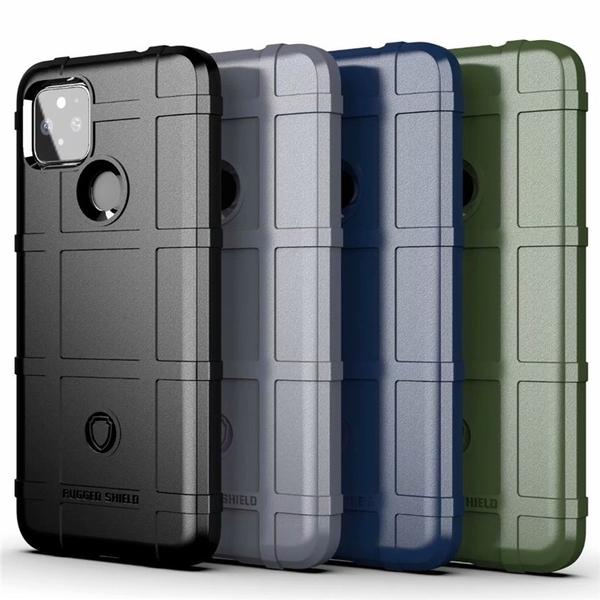 谷歌Google Pixel5 XL手機殼三防護盾個性全包磨砂防摔套新款Pixel5